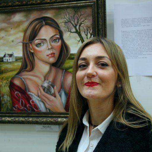 В галерее Art L' – «Большой мир в ее глазах…» Ольги Дановой