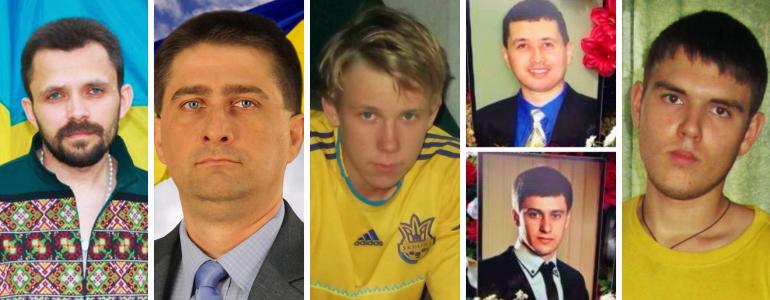 Їх вбили за мову, за стрічку, за прапор... Цивільні, які загинули за Україну
