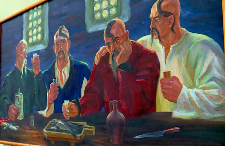 В Оріхові відкрили виставку видатного митця-знавця історії (відео)