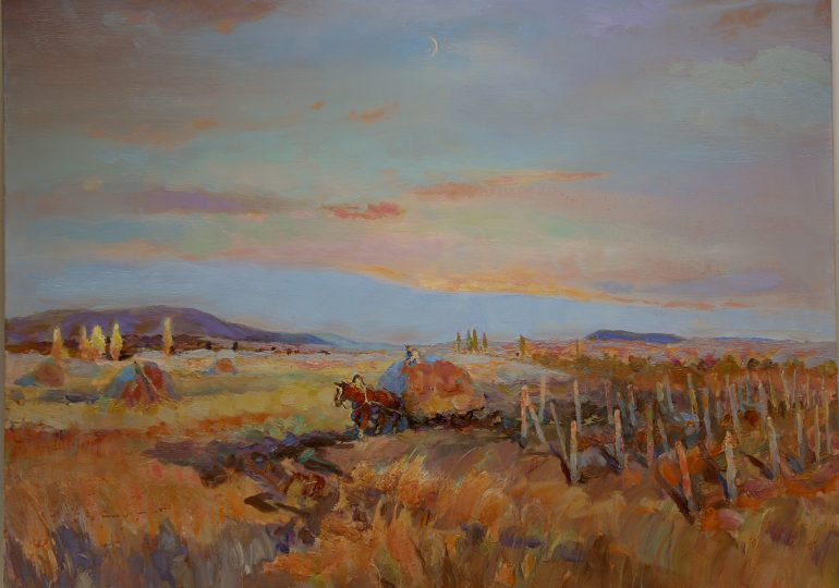 Открылась выставка живописи А. Шеретова «Дорога домой» (фото, видео)
