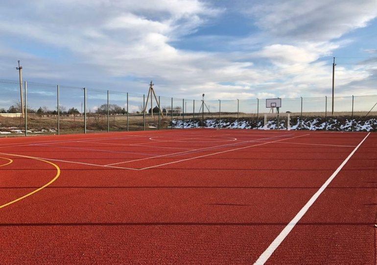 У громадах чотирьох районів Запорізької області з'являться нові спортивні майданчики