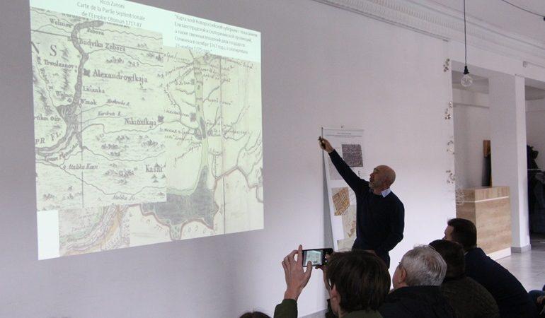 В Запорожье археологи представили результаты исследования Александровской крепости