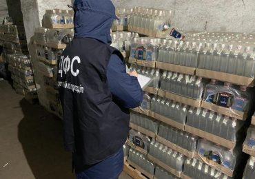 На Запоріжжі виявили фальсифікований алкоголь більше ніж на 1 млн грн
