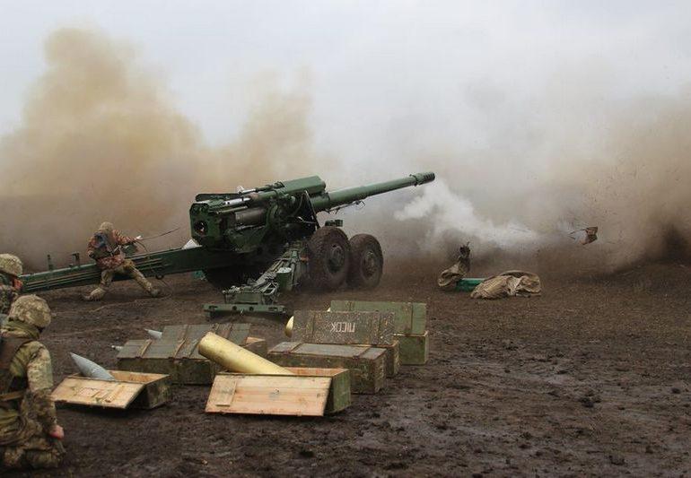 Запорожские артиллеристы отстрелялись на «отлично»