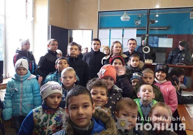 В Оріхові діти відвідали відділення поліції