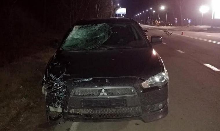 У Мелітопольському районі в результаті ДТП загинув пішохід