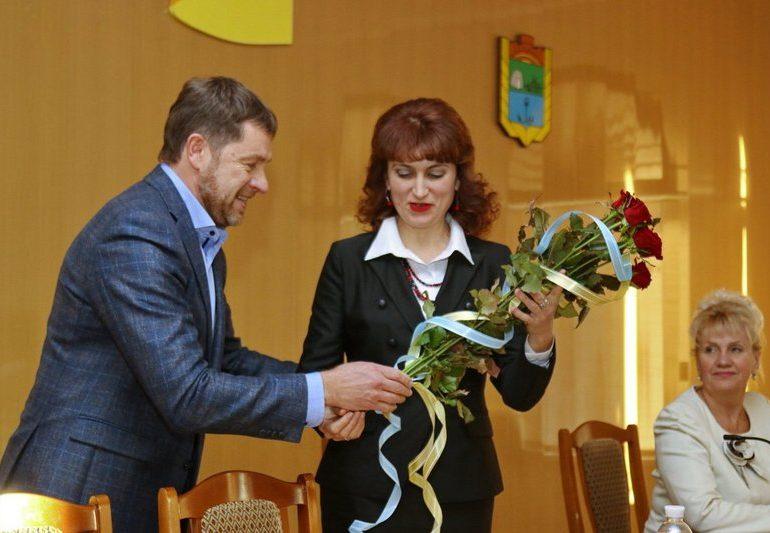 В Бердянске представили  новую руководительницу райгосадминистрации