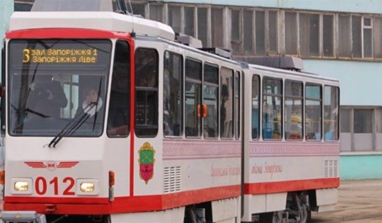 Вниманию запорожцев: изменения движения трамвайных маршрутов