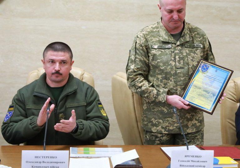 В Запорожской области - новый военком