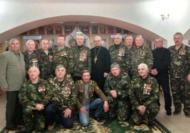 Встреча воинов-афганцев в храме города Орехова