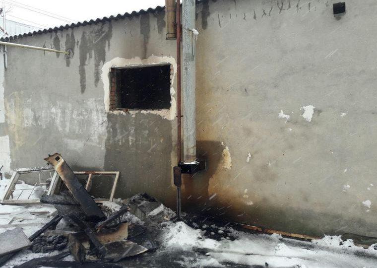 В Запорожской области на пожаре погиб 45-летний сельчанин