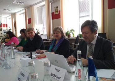 В центрі національних культур «Сузір'я» відбулася зустріч з експертами Ради Європи