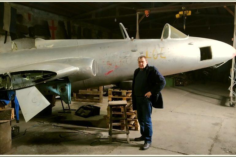В Запорожье умельцы из музея техники «Фаэтон» возвращают к жизни летающего «дельфина»