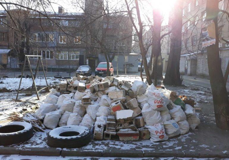 В Запорожье активизировали работу по ликвидации стихийных свалок
