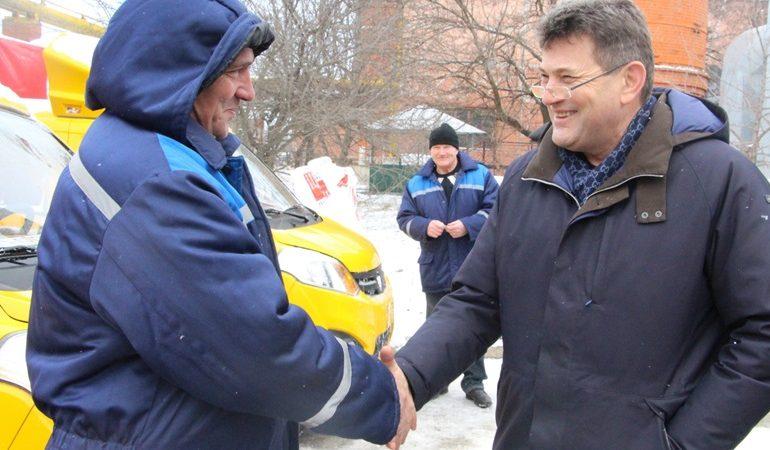 В Запорожье концерн «Городские тепловые сети» получил новую технику