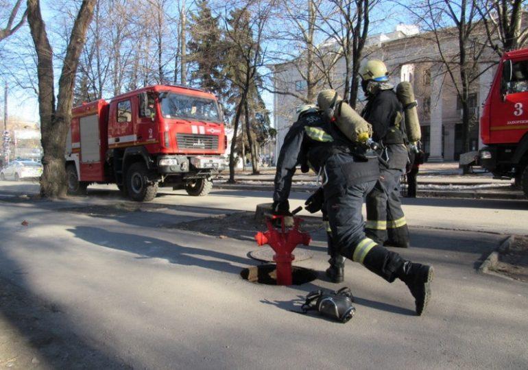 В Запорожье провели антитеррористические учения