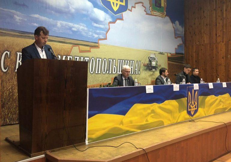 Головою Мелітопольської РДА призначено Володимира Цапа