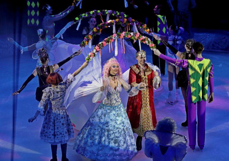 Цирк на льду в Запорожье (видео, фото)