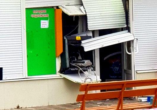 Поліцейські затримали зловмисників, які підірвали банкомат в Енергодарі
