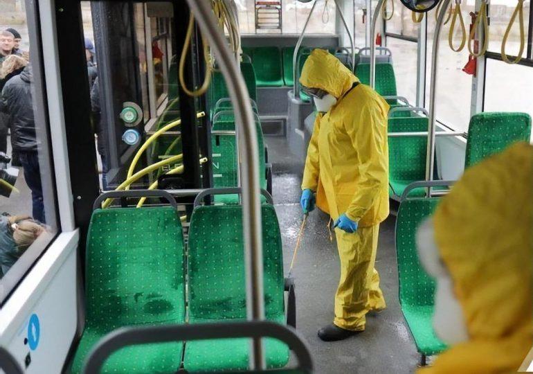 В Запорожской области будут проводить дезинфекцию общественного транспорта