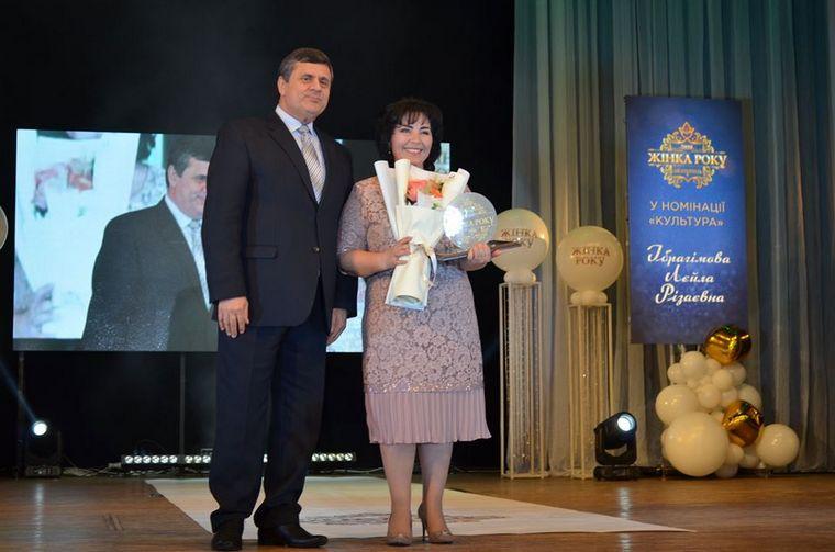 """В Мелитополе директор краеведческого музея стала """"Женщиной года-2020"""""""