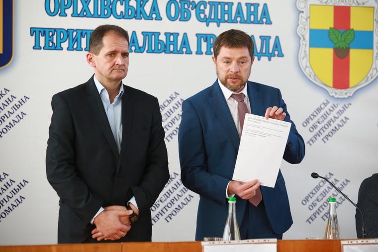 В Оріховському районі представлено нового главу райдержадміністрації