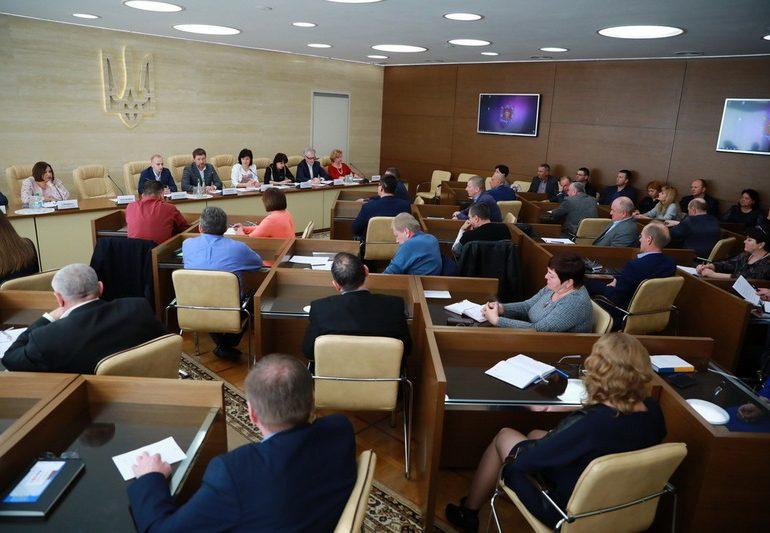 В облдержадміністрації відбувся День об'єднаних територіальних громад