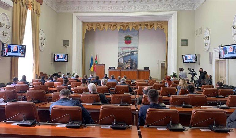 В Запорожье состоялось внеочередное заседание городской чрезвычайной комиссии