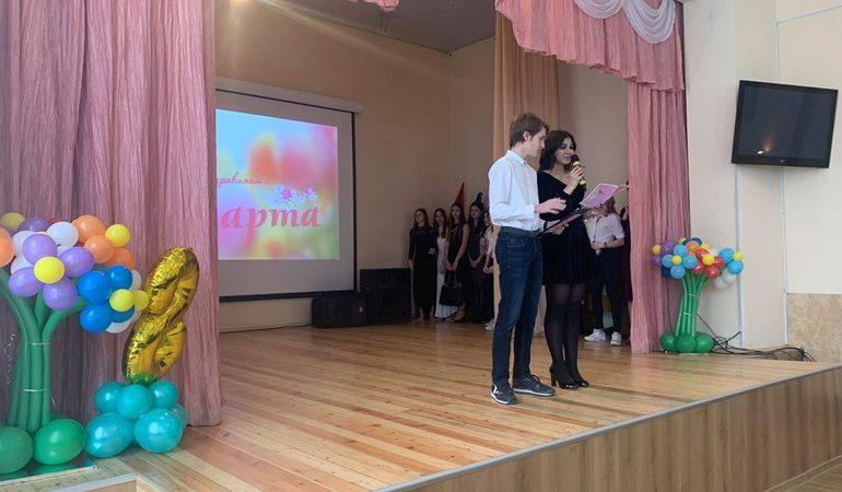 В Запорожье гимназисты подготовили весенний концерт