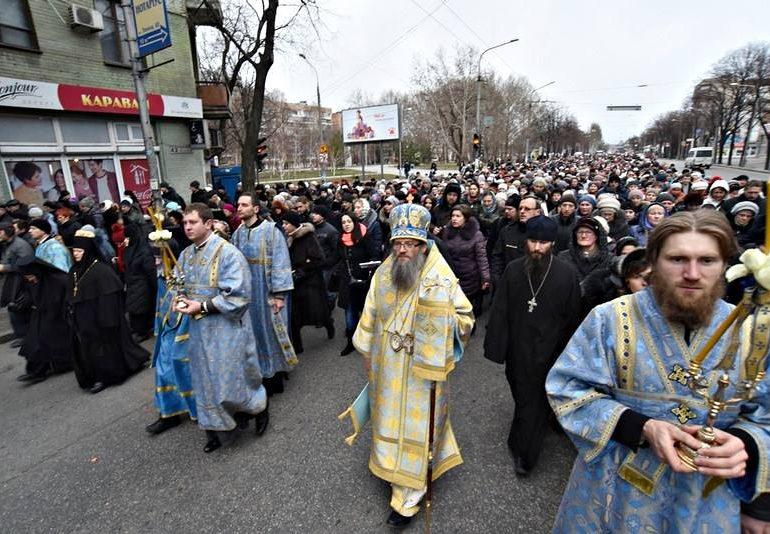 8 марта в Запорожье состоится Крестный ход