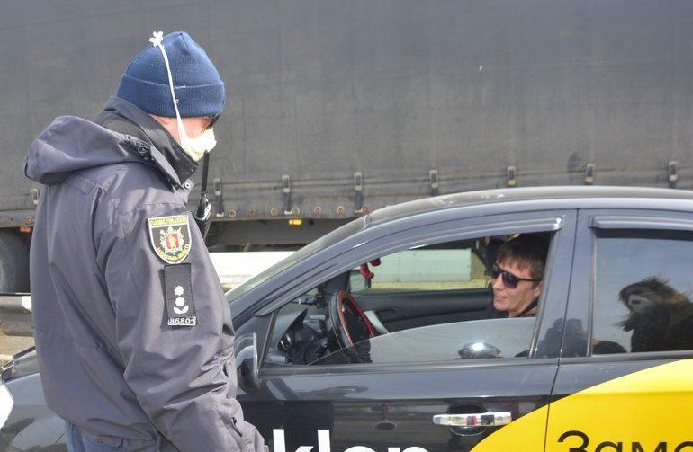 На въезде в Энергодар обустроили станцию патрульной полиции