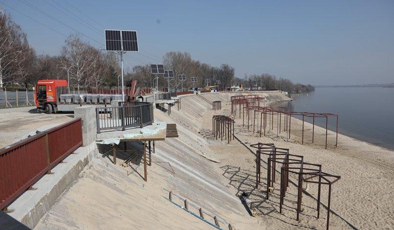 В Запорожье к лету появится лучший пляж города