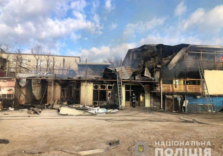 У Запорізькій області поліція встановлює осіб, причетних до пошкодження майна