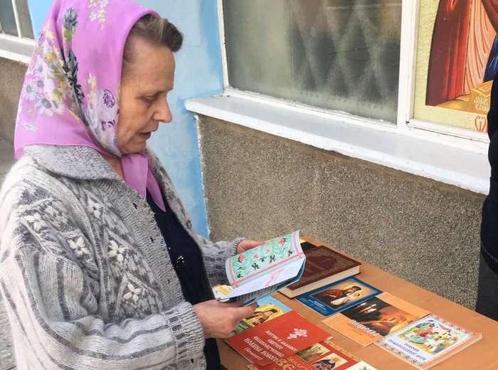 В Энергодаре провели ярмарку православной книги