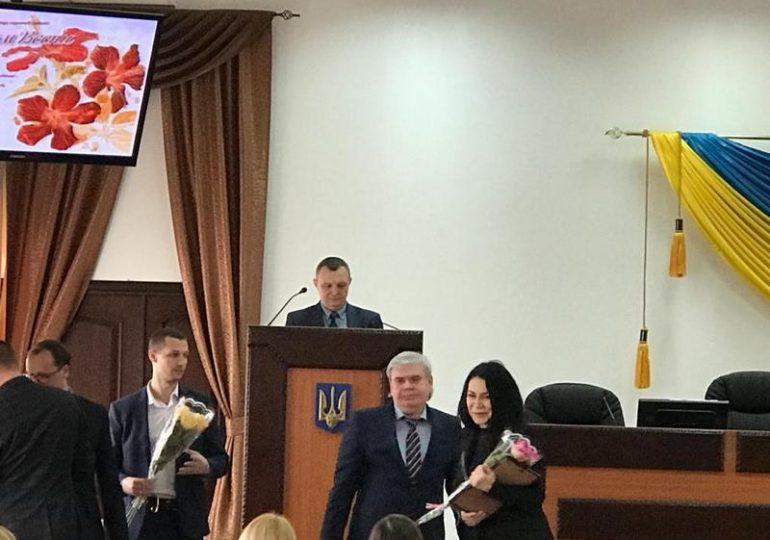 Прекрасну половину колективу прокуратури Запорізької області привітали зі святом весни