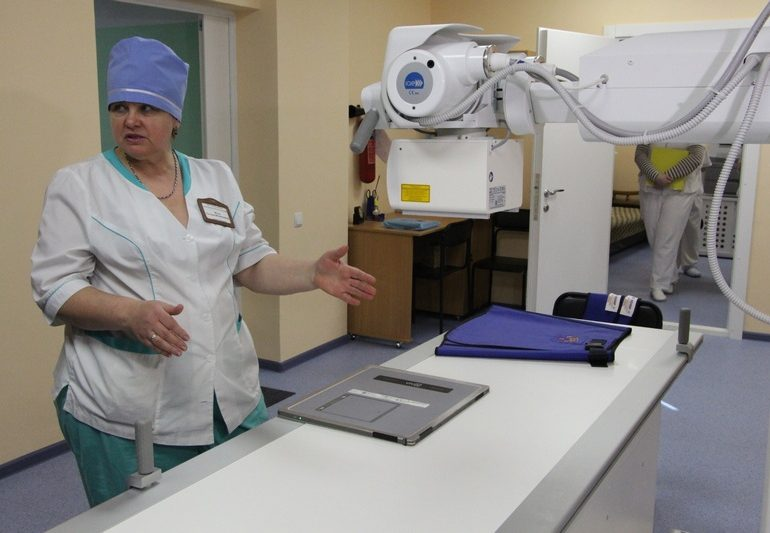 В Запорожье в больнице скорой медпомощи появился новый рентген-аппарат