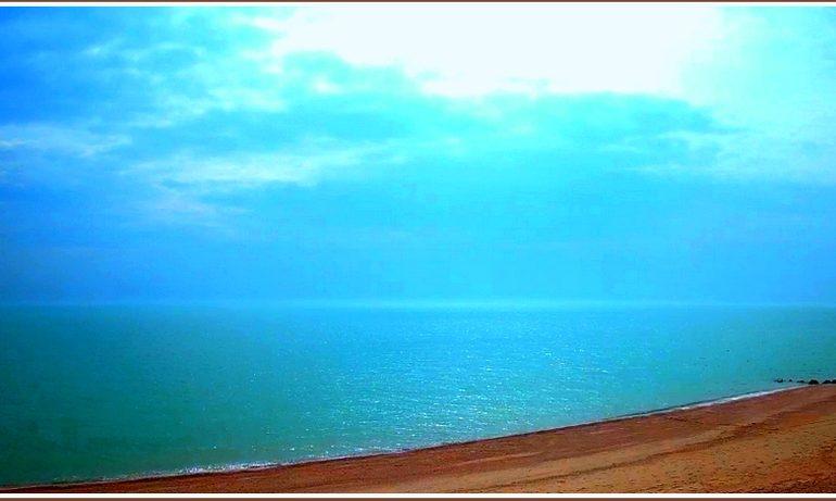 В Запорожской области на море – ШТИЛЬно (фото)