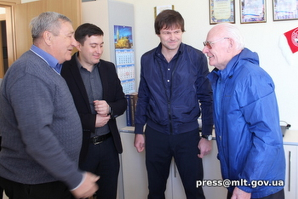 В Мелитополе ветерана спорта поздравили с 80-летием со дня рождения