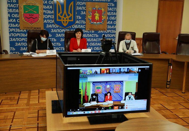 В Запорожской области останется 5 районов