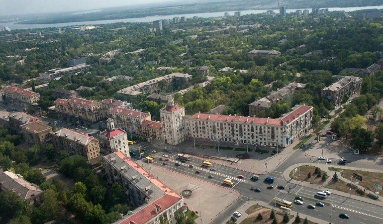 Карантин в Запорожье: день первый