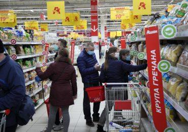 В Запорожье карантин. Цены в супермаркете и позитив (фото)