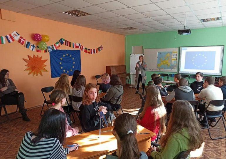 В Запорожской области началась неделя уроков Европы