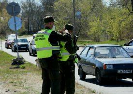 В Запорожье Нацгвардия контролирует пункты въезда и выезда из города (фото)