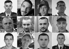 12 загиблих героїв березня: згадаймо їхні обличчя