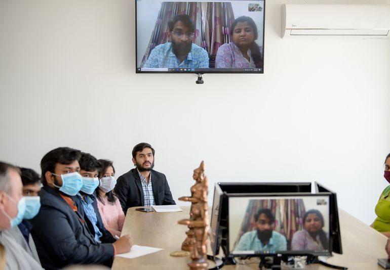У Запорізькому медуніверситеті відбувся телеміст з індійськими партнерами