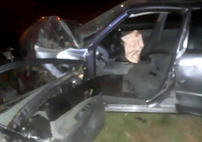 Рятувальники деблокували водія з понівеченої внаслідок ДТП автівки
