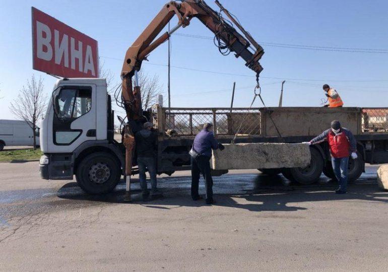 На въездах в Бердянск устанавливают блок-посты