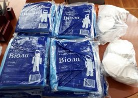 Медикам Кирилівської громади передали засоби індивідуального захисту