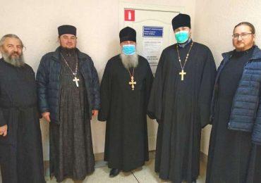 В Энергодаре изучали священников с помощью флюорографии