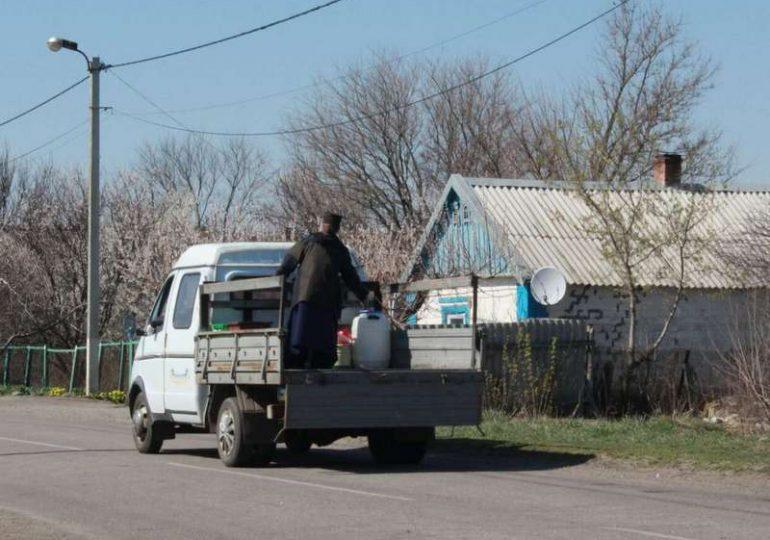 В Мелитопольском районе села окропили святой водой